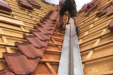 Dachsanierung / Dachdeckung