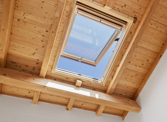 Wooden Skylight Window